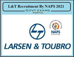 NAPS L&T Recruitment